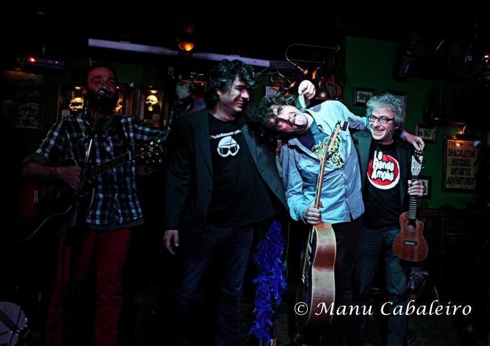 2013, Toledo. Polaino, Kike, Lichis & Trespi.